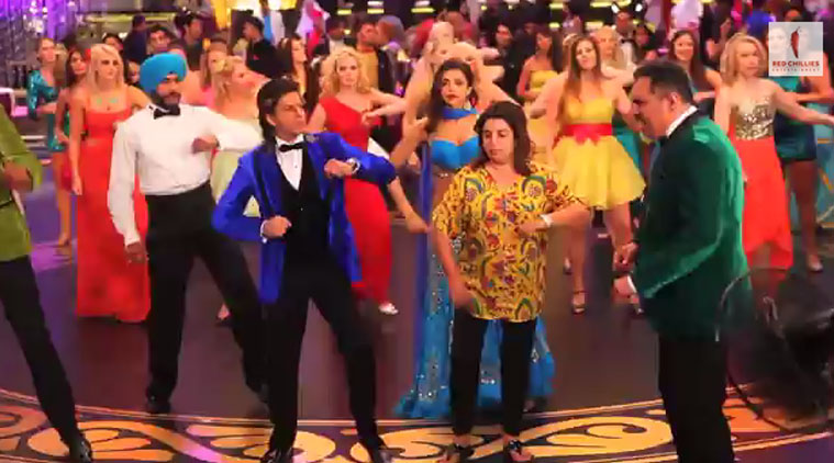 Watch Behind The Scenes of SRK, Deepika Padukone | HNY