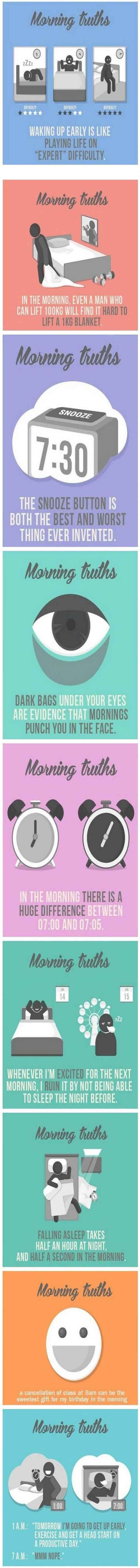 Morning Truths - This Is What Happens In The Morning.