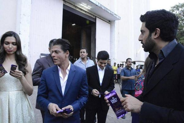 Shah Rukh Khan with Bad Attitude Host - Interview