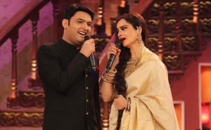 When Rekha Met Kapil Sharma - Comedy Nights With Kapil (2)