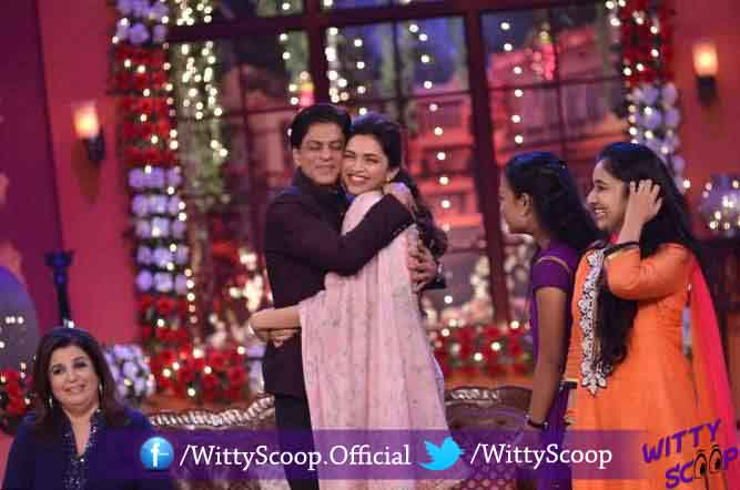 Happy New Year team at Comedy Nights With Kapil - Stills