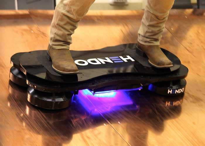 Hendo Hoverboard Kickstarter - World's first hoverboard