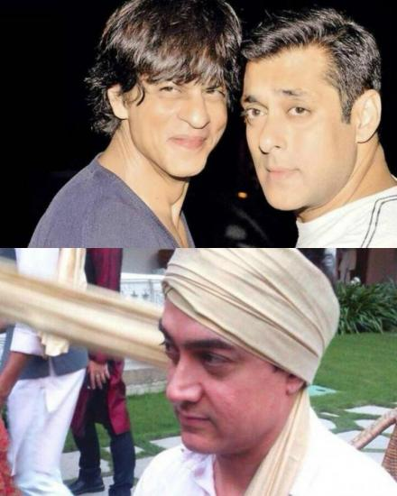 Shah Rukh Khan, Salman Khan & Aamir Khan Together