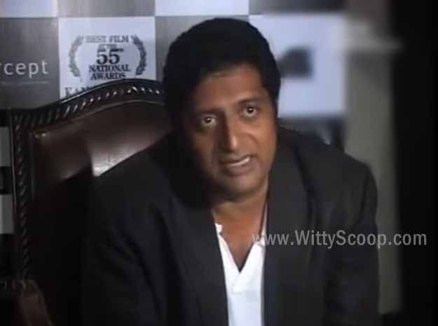 Prakash Raj Interview in English & Hindi