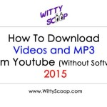 How To Download Youtube Videos & MP3 - 2015 (Without Software)
