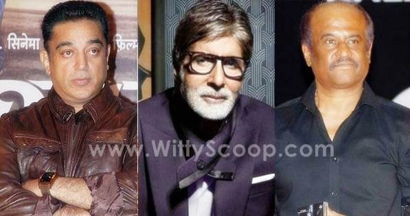 Amitabh Bachchan, Kamal Haasan & Rajinikanth To Come Together For Ilaiyaraaja