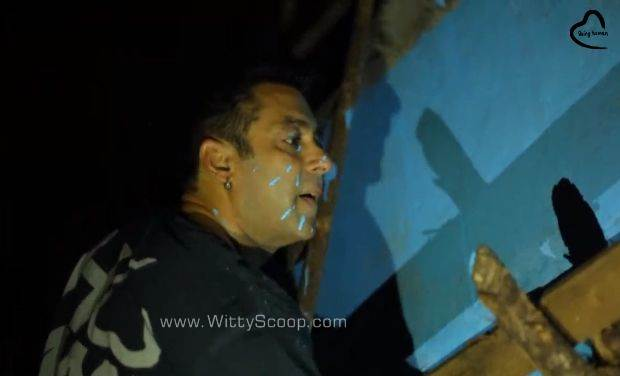 Salman Khan Painted Whole Village With Bajrangi Bhaijaan Team (1)