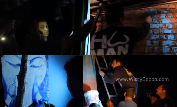 Salman Khan Painted Whole Village With Bajrangi Bhaijaan Team (4)