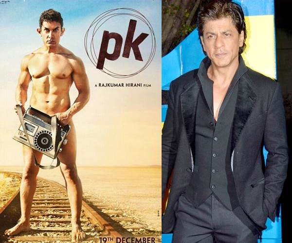 Shah Rukh Khan Supports Aamir Khan's PK After Salman Khan