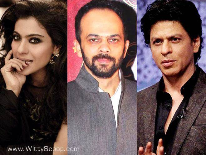 SRK, Kajol, Varun Dhawan and Kriti Sanon in Rohit Shetty's Next