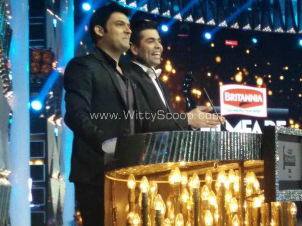 Kapil Sharma Stole The Show At Filmfare Awards 2015 [VIDEO]