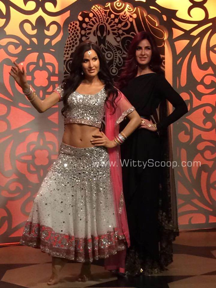 Katrina Kaif Wax Statue at Madame Tussauds in London Unveiled (2)
