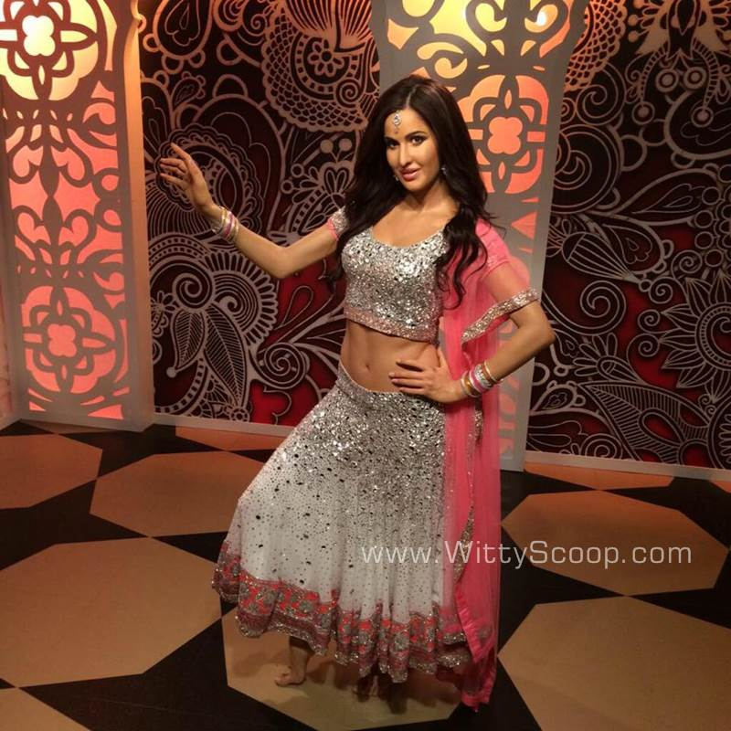 Katrina Kaif Wax Statue at Madame Tussauds in London Unveiled (4)