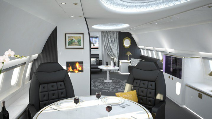 Luxurious Private Jets Interior - Mind Blowing Designs (9)