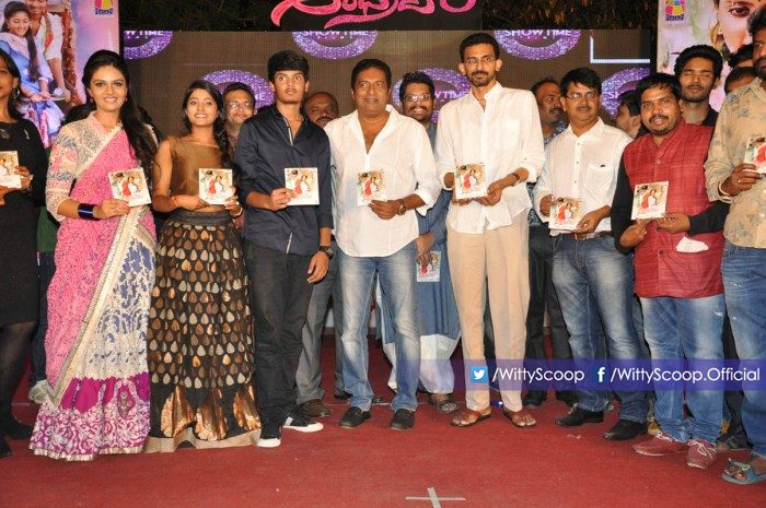 Andhra Pori Audio Launch - Akash Puri, Ulka Gupta & Prakash Raj (7)