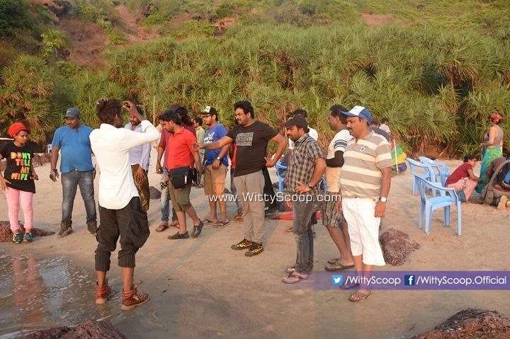 Jyothi Lakshmi Movie Making On Kerri Beach Goa - Puri Jagannadh (1)