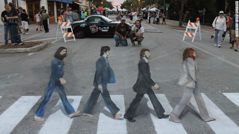 Awesome 3D Street Art Illusions