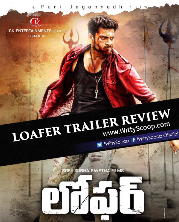 Loafer Movie Trailer Review Varun Tej, Disha Patani - Puri Jagannadh