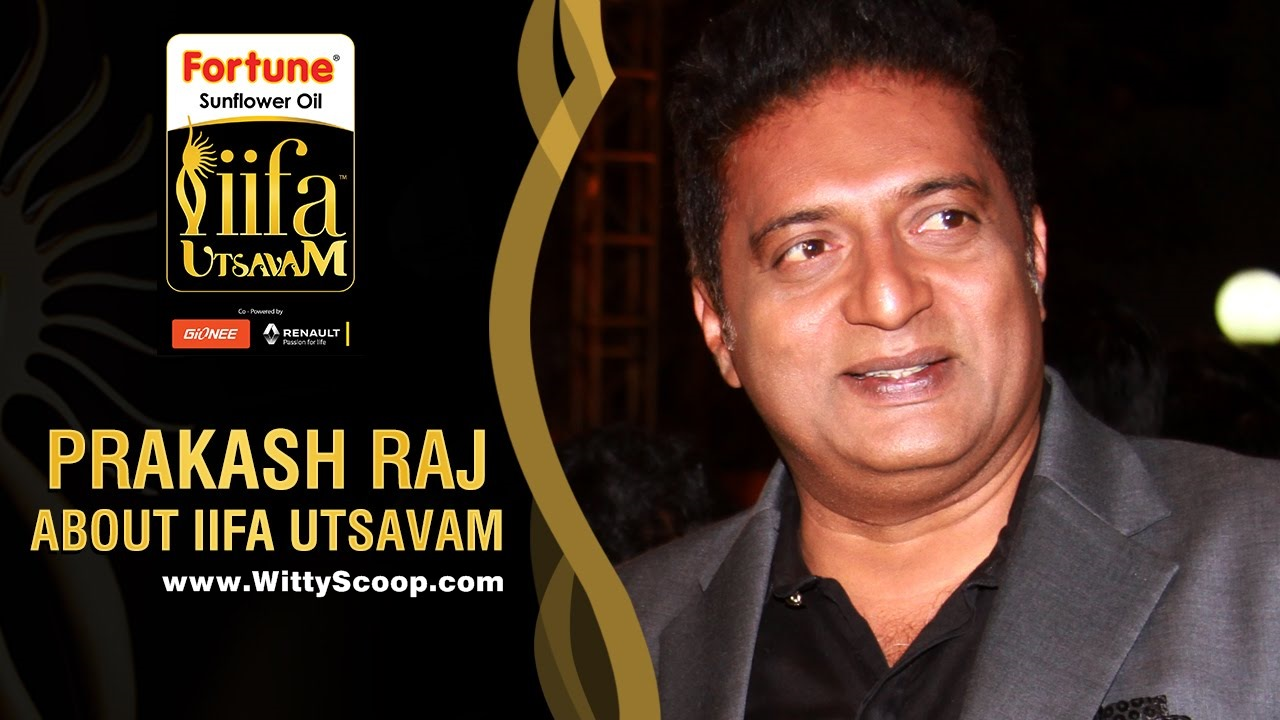 Prakash Raj on IIFA