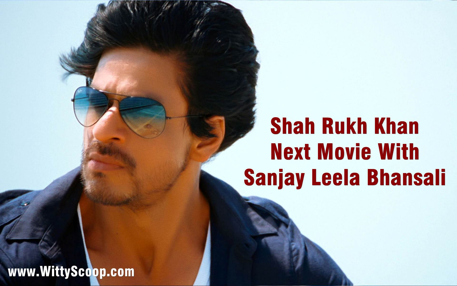 ShahRukh Khan Next Movie With Sanjay Leela Bhansali