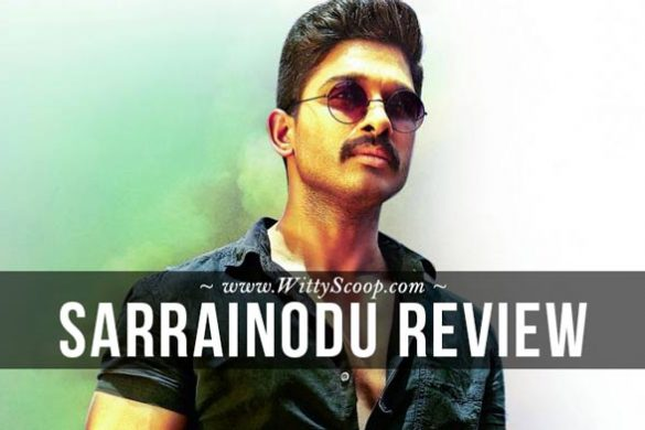 Sarrainodu Movie Review - Allu Arjun