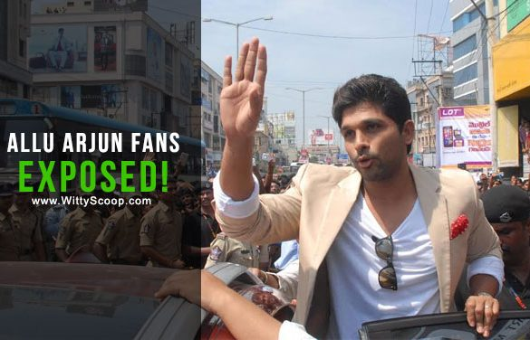 Allu Arjun Fans Exposed