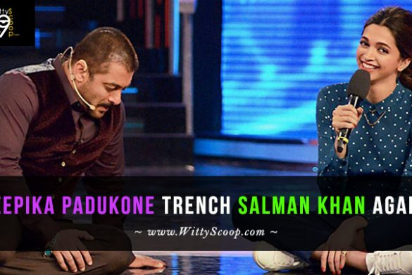Deepika Padukone trench Salman Khan once more, quits Kabir Khan's next!