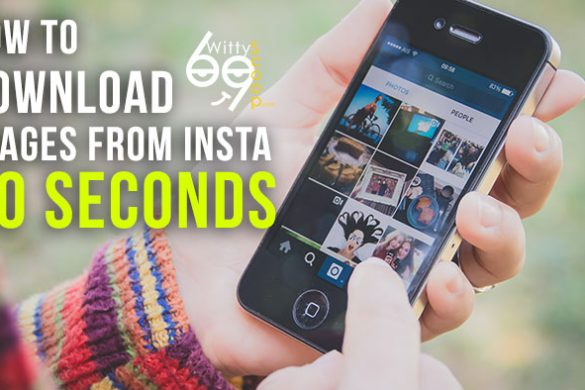 How to download images from Instagram 2016