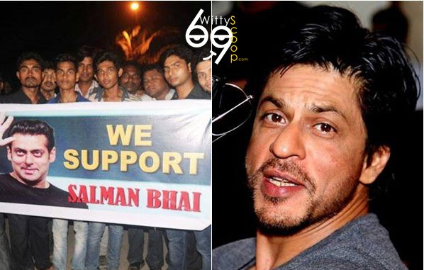 Shah Rukh Khan tweets about bad behavior of Salman Khan fans (2)