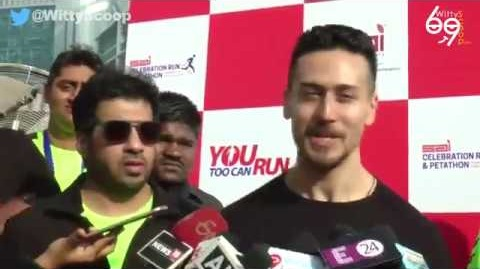 Tiger Shroff Interview