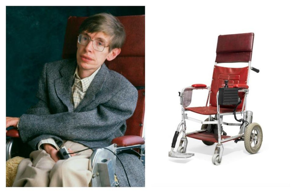Stephen Hawking's Wheelchair Auctioned At An Unbelievable Price!
