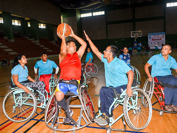 Wheelchair Basketballers