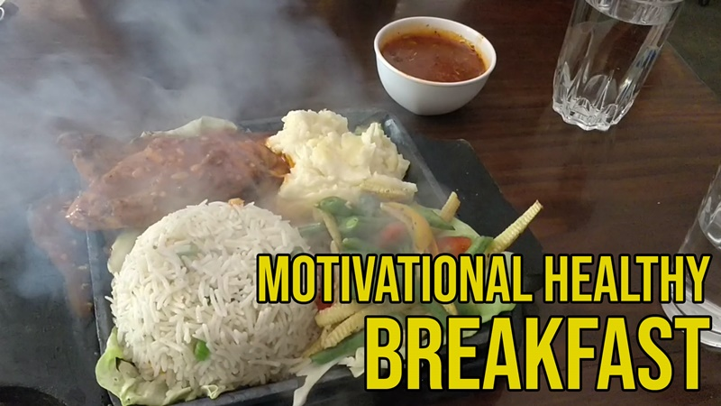 Motivational & Healthy Breakfast by Sana Khan | Entrepreneur Lifestyle | Witty Scoop