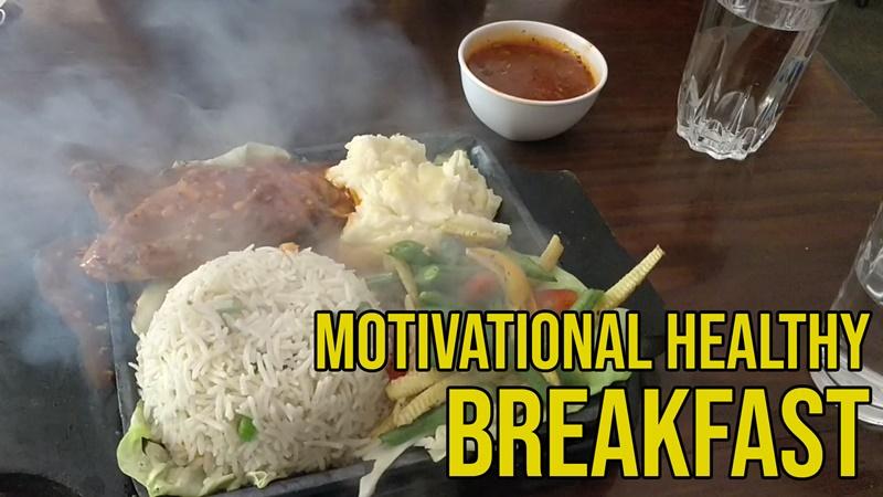 Motivational & Healthy Breakfast by Sana Khan   Entrepreneur Lifestyle   Witty Scoop