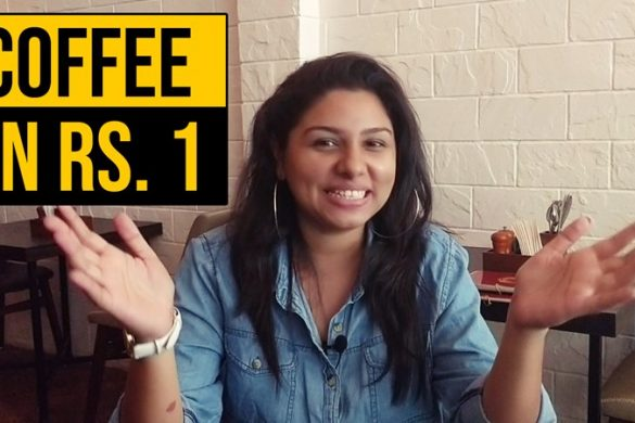 Coffee for One Rupee