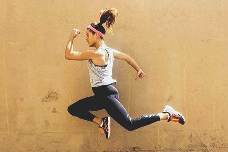 Jogging, cycling, swimming, jumping rope