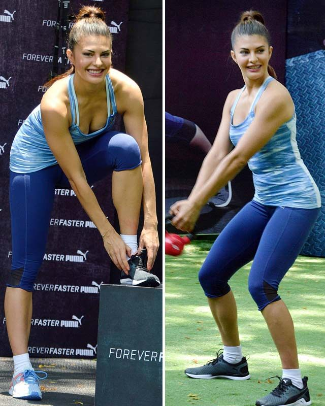 Get A Trendy Jacqueline Fernandez Look In Sports Clothing