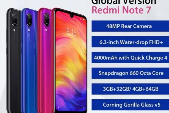 Buy Xiaomi Redmi 7 for just 8,499 INR [3GB+32GB] from Amazon