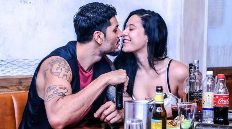 Tiger Shroff's sister Krishna Shroff with Boyfriend Eban Hyams