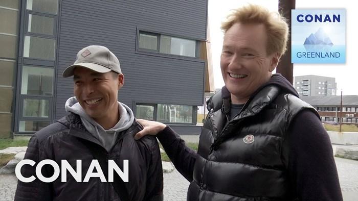 Conan O'Brien Finally Arrives In Nuuk - CONAN in GREENLAND | Netflix Special