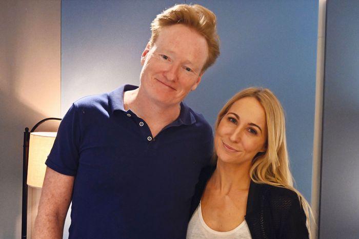 Nikki Glaser Conan O'Briend