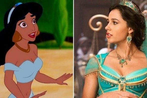 Disney Jasmine From 'Aladdin' Drew Inspiration From Several Stars