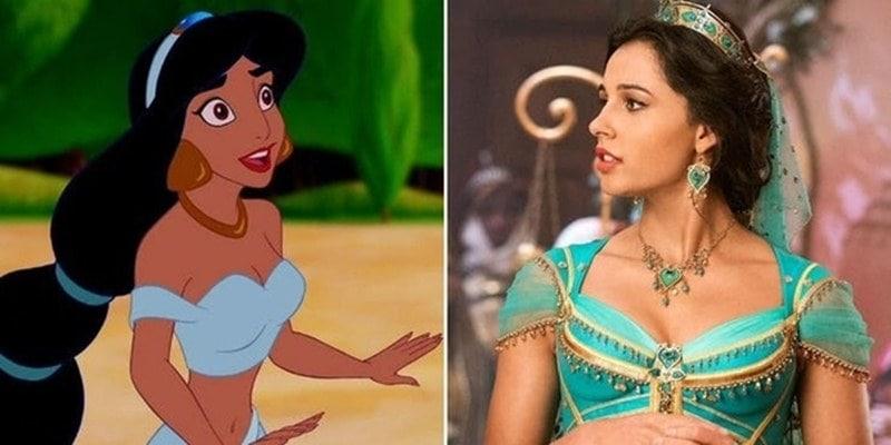 Disney Jasmine From 'Aladdin' Drew Inspiration From Several Stars