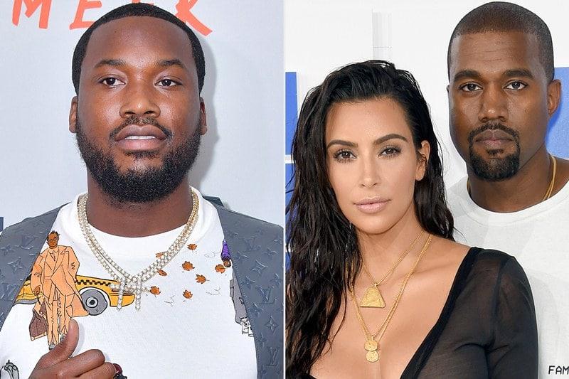 Kim Kardashian And Meek Mill