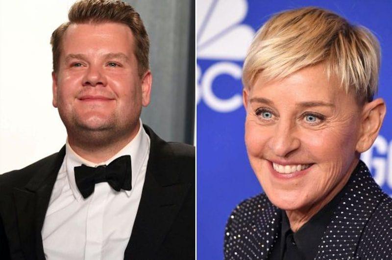 James Corden Reportedly REPLACING Ellen DeGeneres