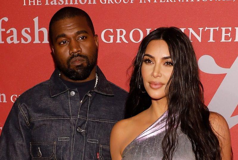 Kim Kardashian and Kanye West Living SEPARATE Lives for Months