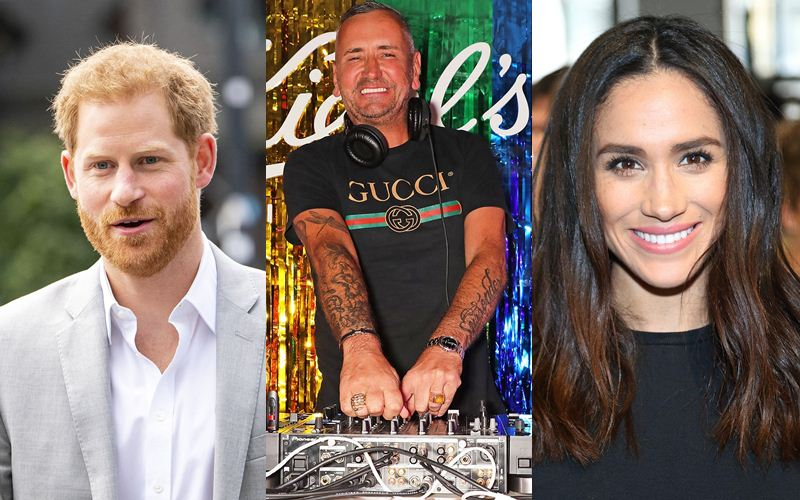 Prince Harry Meghan Markle DJ Fat Tony