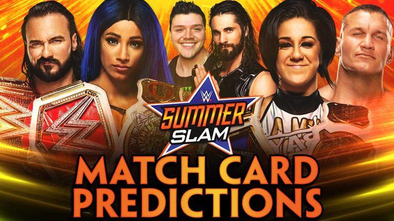 WWE Summerslam 2020 | Match Card Predictions