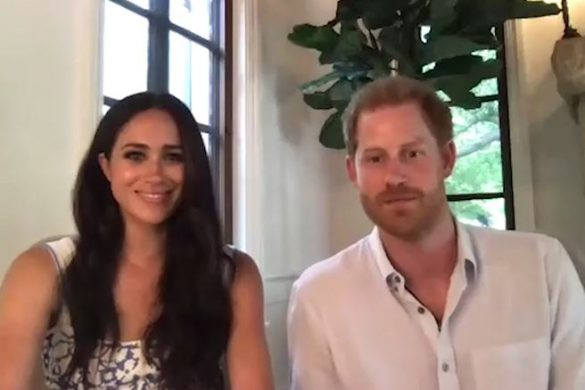 Meghan Markle, Prince Harry Appeared Together First Time From New Santa Barbara Home