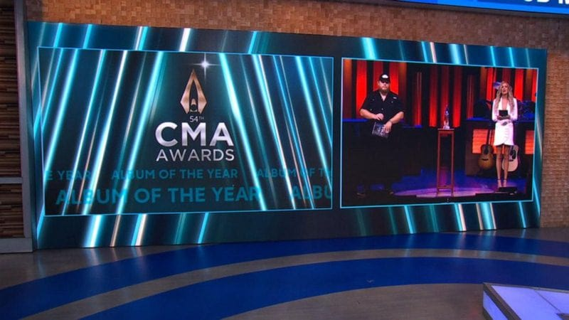 The 54th Annual CMA Awards 2020 Nominations List